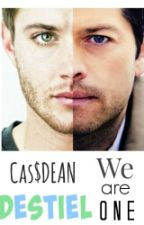 DESTIEL ~ Cas and Dean by GeanDej