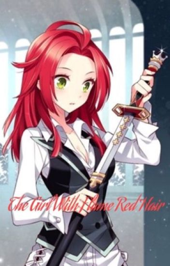 Book Cover White Hair : The girl with flame red hair akagami no shirayukihime