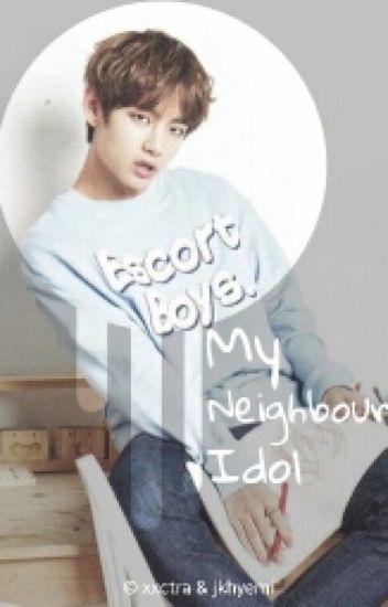 My Neighbour Idol. [FF BTS Kim Taehyung]