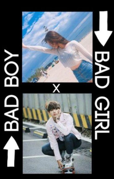 Bad boy X Bad girl [Kim Taehyung fanfic]