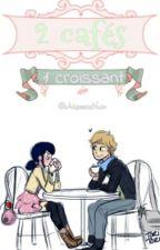 2 Cafés, 1 Croissant. by AkassiaNoir