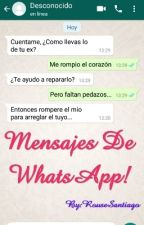 Mensajes De WhatsApp! #FreedomAwards2017 by RouseSantiago