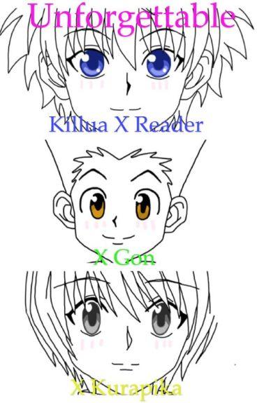 Unforgettable (Killua x Reader x Gon)