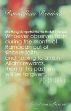 Ramdhan Reminder... by IslamicCollections