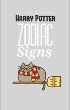 Harry Potter ~ Zodiac Signs by DaisyIsARavenclaw