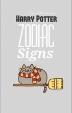 Harry Potter ~ Zodiac Signs by DaisyIsARavenclaw