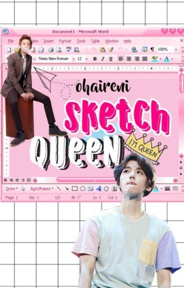 Sketch Queen    Chanbaek/Baekyeol