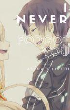 I Never Forgot You | Asuna x Kazuto | ON HIATUS UNTIL I REWATCH THE ANIME by --leah--