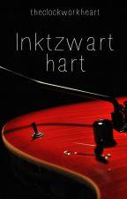 Inktzwart hart by Theclockworkheart