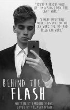 Behind the Flash • Jaspar model AU • by Fandomlifebabe