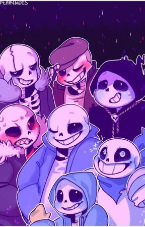 Under all (AU Sans X AU Reader) by MelodyPlescher