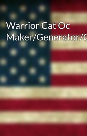 Warrior Cat Oc Maker/Generator/Creator - Eye Color - Wattpad