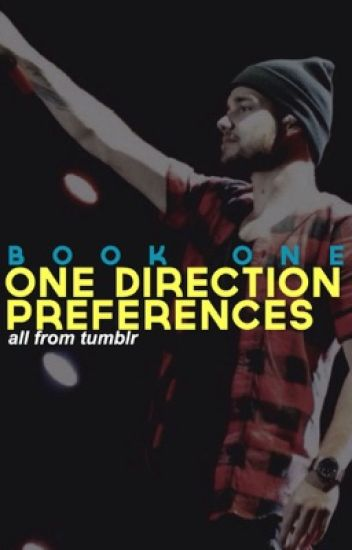 one direction preferences » book 1