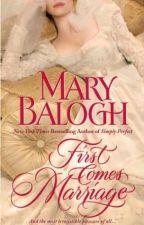 Primeiro Vem o Casamento (Quinteto Huxtable) (1) - Mary Balogh by Daanlimaa