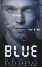 Blue Beast || Hank Mccoy  by buckypedorro