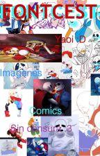 Comic's e Imagenes de Fontcest Yaoi (PapySans-Fell-Swap-Tale) by NyaNyaNekoNyah