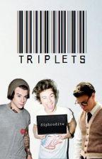 Triplets│Zarry/Zarcel/Zedward/Zouis by Siphrodite