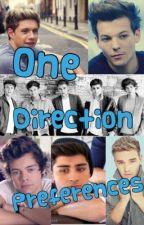 One Direction Preferences x by oldaccountxoxo
