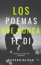 Los Poemas Que Nunca Te Di by NeverGirlPan