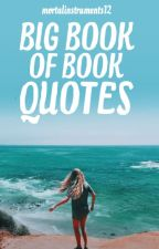 Big Book Of Book Quotes by mortalinstruments12