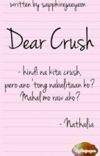 Dear Crush by sapphirejaeyeon