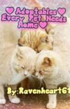 ♥Adoptables♥Every Pet Needs A Home!♥ by Ravenheart61