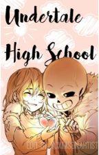 UnderTale High School by iiCximsonArtist