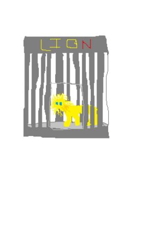 Lion's Cage by ShinoTheShadowShinx