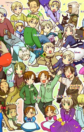 Everything is Hetalia 2: The World Loves You