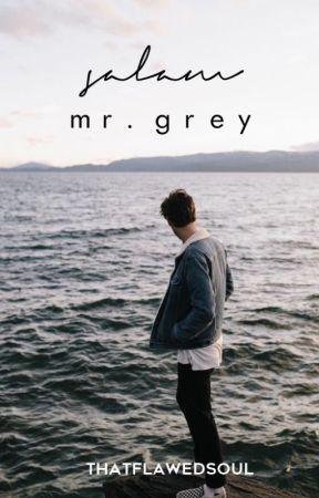 Salam, Mr. Grey by thatflawedsoul
