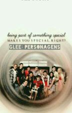 Glee: Personagens by geesousa