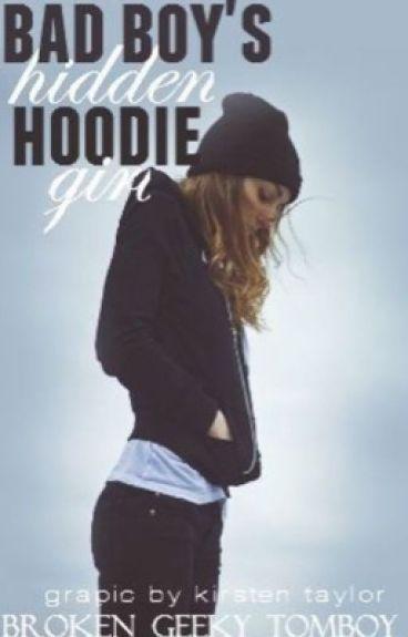 Bad boy's hidden hoodie girl