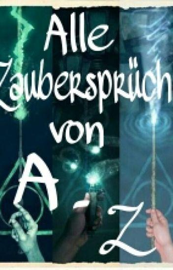 Alle Zaubersprüche aus Harry Potter (A-Z)