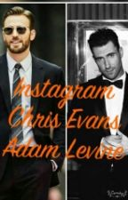 Instagram (Chris Evans/Adam Levine) (TERMINADA)  by Erica__222