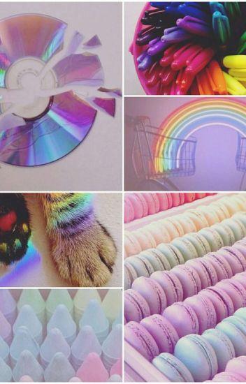 |Rainbow Hair| Garroth X Reader