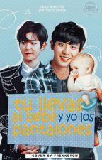 Tú llevas al bebé y yo los pantalones «BaekYeol» by KanameTsukiyomi