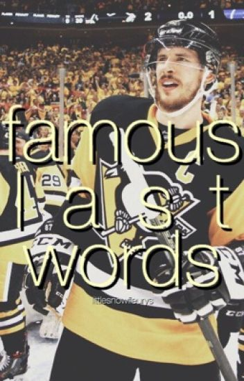 famous last words | s. crosby