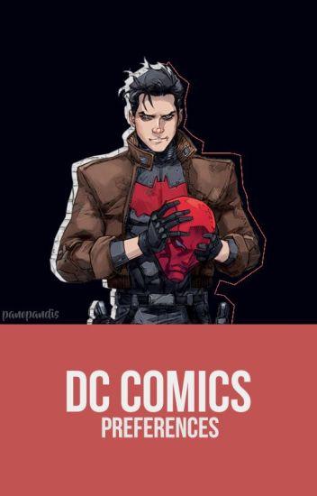 ✎ DC Comics ; preferences ✎