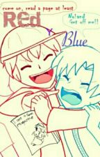 Red y Blue [Dick figures/yaoi] by masomen123