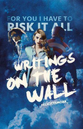 Writings on the wall-Avengers by _felicitysmoak_