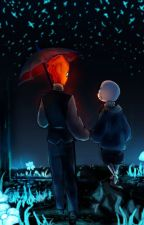 Sans X Grillby BOOK 2 by Thunderpaw0110