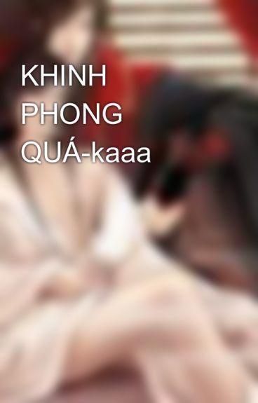 KHINH PHONG QUÁ-kaaa by songvj_tien