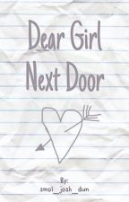 Dear Girl Next Door by smol_josh_dun