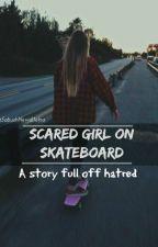 Scared girl on skateboard✔ by SabushNeviditelna