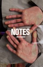 notes ⇹ yoongi by jxepil-