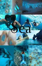 Sea AU! - L.s  by Larryhpurpurina