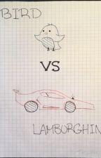Bird vs Lamborghini by Tee_Hee_Heee