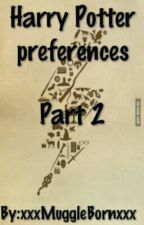 Harry Potter Preferences by gone_1