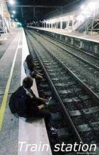 train station » r.d.g + m.r  by happyrubelangel