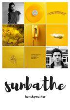 sunbathe ⇒ peter parker by hanskywaIker